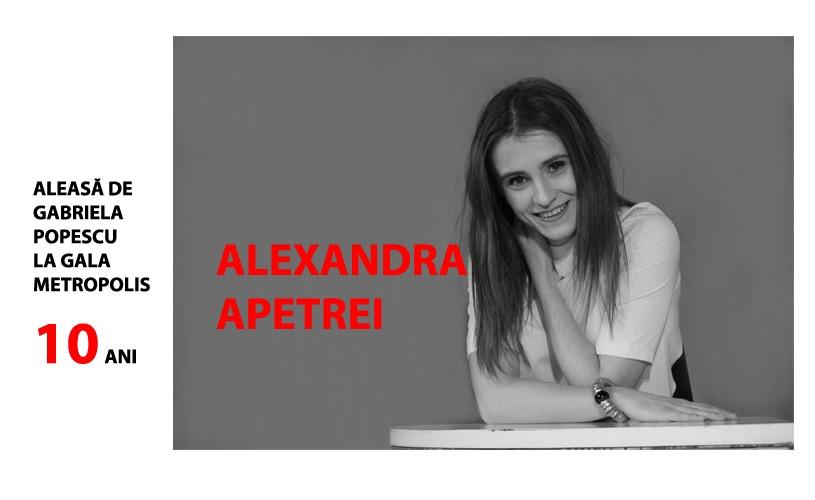 """Alexandra Apetrei: """"În meseria asta, e foarte important să crezi"""""""