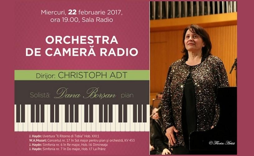 Haydn & Mozart în interpretarea Orchestrei de Cameră Radio
