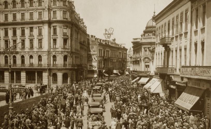 București, un oraș greu încercat