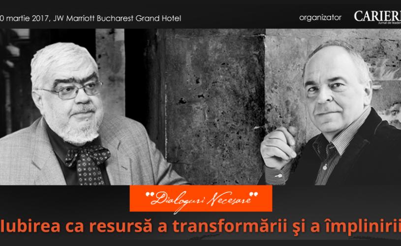 Iubirea ca resursă a transformării şi a împlinirii – O întâlnire cu Andrei Pleşu și Gabriel Liiceanu