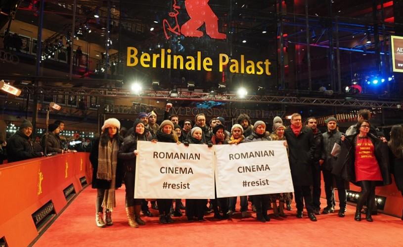 #rezist. Protestele din România, pe covorul roșu la Berlinală și la BAFTA