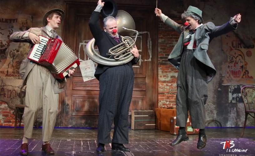 """""""Angajare de clovn"""", la lansarea Programului de cooperare artistică Theatre Franco-Roumain"""