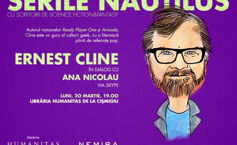 Ernest Cline, primul invitat la Serile Nautilus