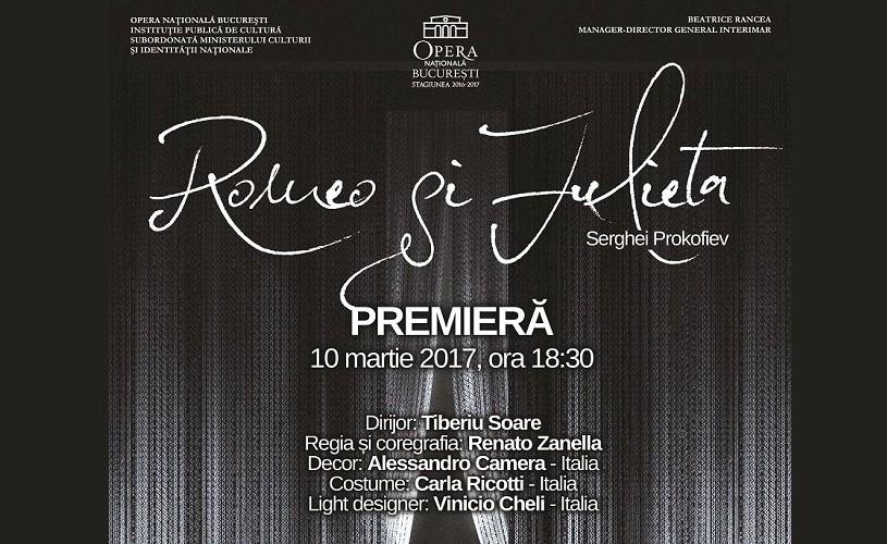 Romeo și Julieta, la Opera Națională București