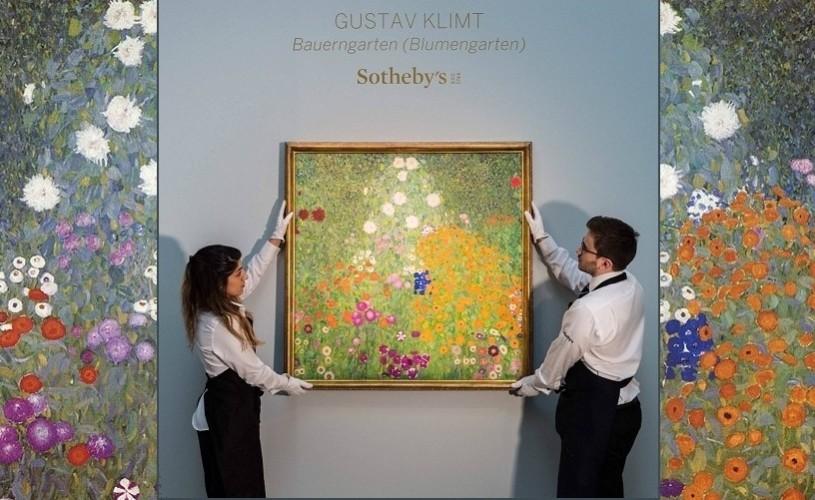Tablou de Gustav Klimt, record pe piaţa de artă