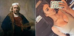 Ce au în comun Rembrandt, Van Gogh și Kim Kardashian?