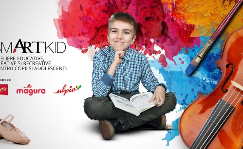 Atelier smARTkid de comunicare, pentru copiii între 6 și 9 ani