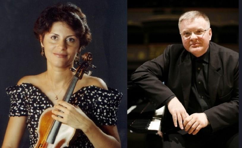 Cristina Anghelescu și Daniel Goiți, recital romantic la Sala Radio