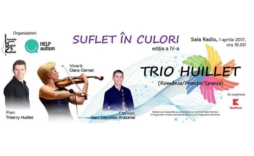 """A IV-a ediție a evenimentului ,,Suflet în culori"""", concert caritabil în beneficial copiilor cu autism"""