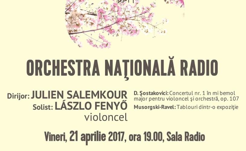 Șostakovici & Musorgski – Ravel cu Orchestra Națională Radio, la Sala Radio