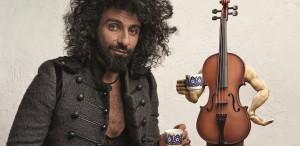 Violonistul Ara Malikian concertează la Sala Palatului, pe 7 noiembrie