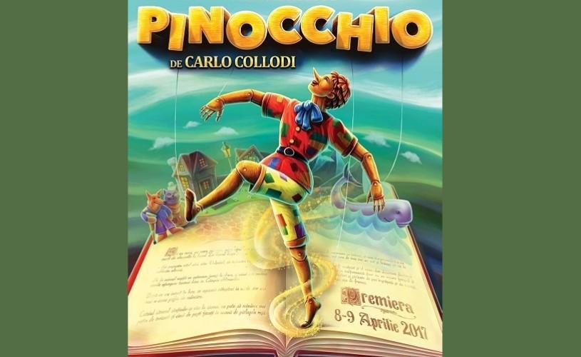 Pinocchio. Premieră de balet contemporan la Opera Comică pentru Copii