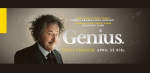 Serial despre Einstein. Premiera, la National Geographic, pe 30 aprilie