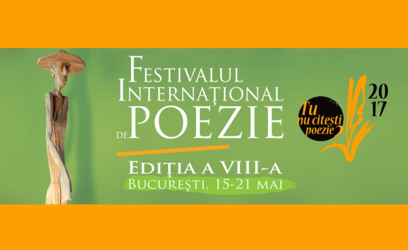 100 de poeți, 30 de țări, 10 spații culturale. Festivalul Internațional de Poezie București