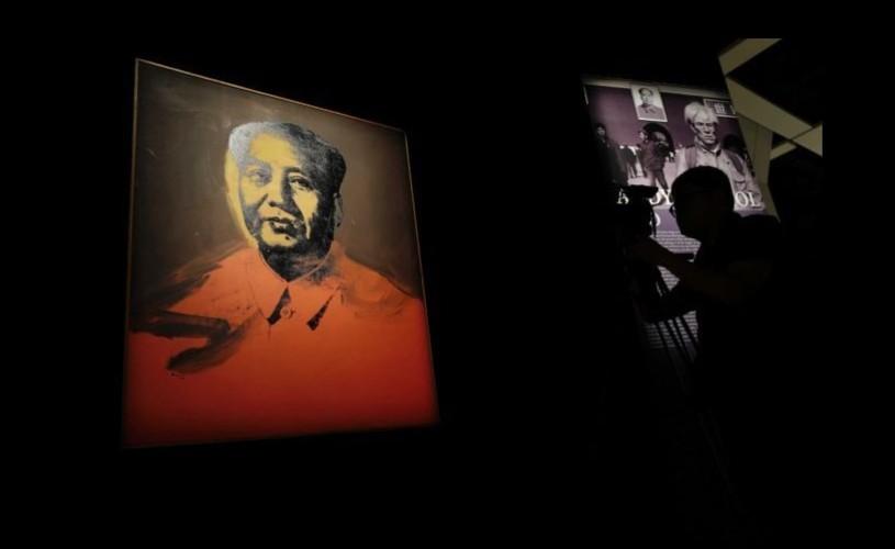 Un portret al lui Mao, realizat de Warhol, vândut cu 12,6 milioane de dolari