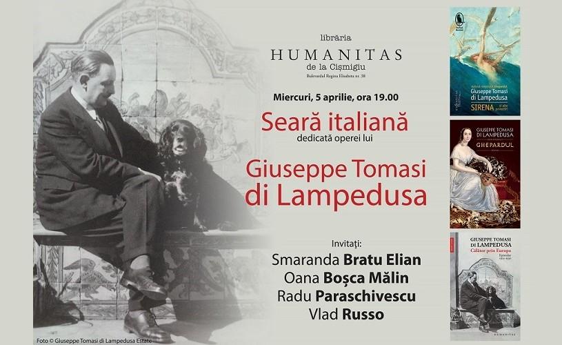 Despre viaţa şi opera lui Giuseppe Tomasi, duce de Palma şi principe de Lampedusa