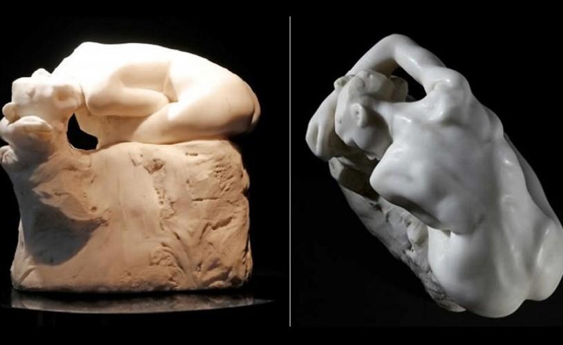 """""""Andromeda"""", sculptura din marmură albă a lui Rodin, vândută cu 3,6 milioane de euro"""