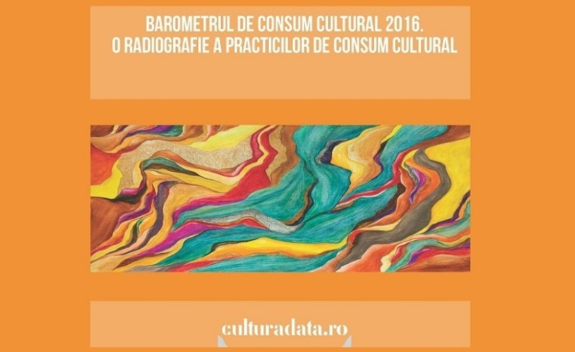 Se lansează Barometrul de Consum Cultural 2016