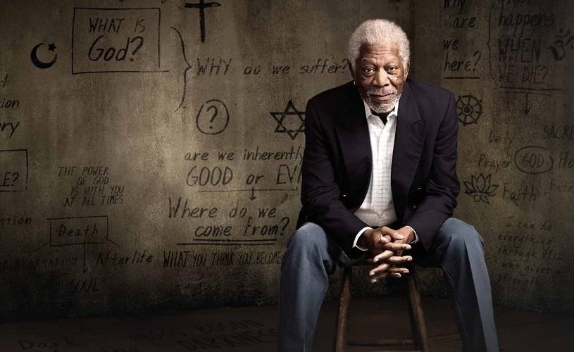 """Morgan Freeman spune """"Povestea lui Dumnezeu"""", la TVR 1"""