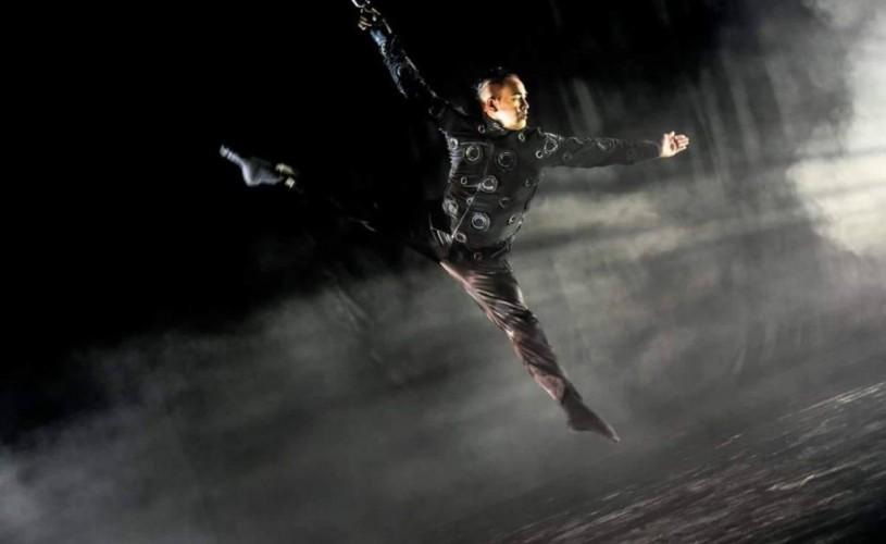 """Tango la altitudine"", spectacol de dans aerian marca Brenda Angiel"