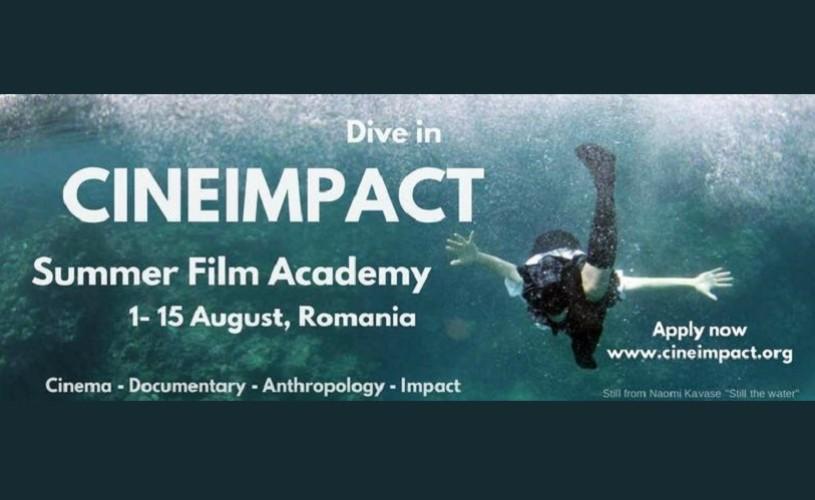 Rezidență artistică în cadrul Academiei Internaționale de Film Cineimpact