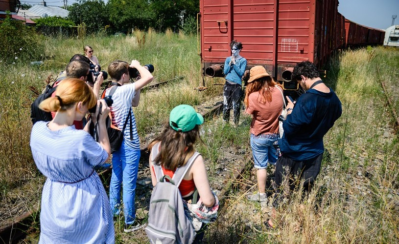 Cum a fost la workshopul de fotografie și explorare urbană Walk & Shoot #6