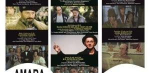 Horațiu Mălăele și Mircea Diaconu, cu Caravana Filmului Românesc la Amara