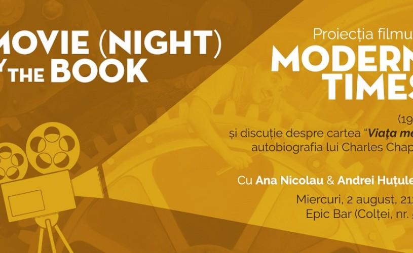 Movie night by the book – Modern Times, de Charlie Chaplin