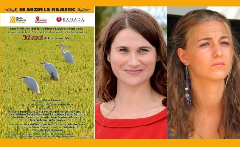 PREMIERĂ: Trei surori (contemporane) – Teatrul Naţional Radiofonic