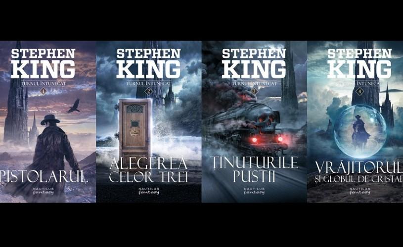 Turnul întunecat, de Stephen King, în colecția Nautilus, odată cu lansarea filmului în cinematografe