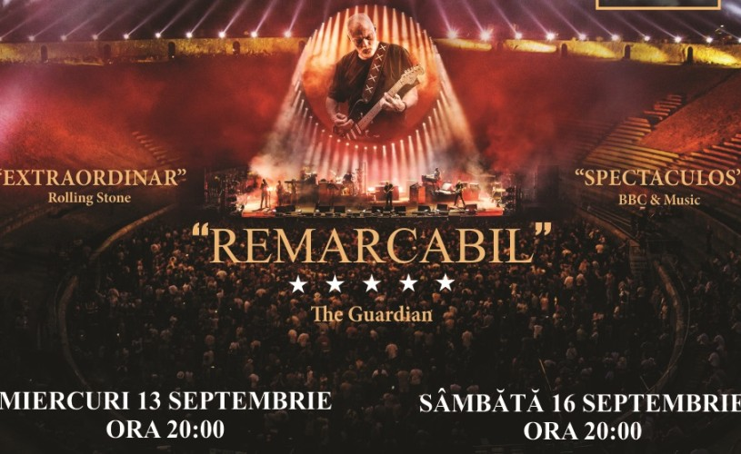 Concert David Gilmour – Live At Pompeii la Happy Cinema