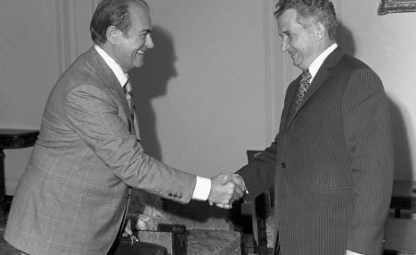 """""""Legionar, fascist și colaboraționist al regimului Ceaușescu"""""""