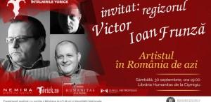 Victor Ioan Frunză la Întâlnirile Yorick: Artistul în România de azi