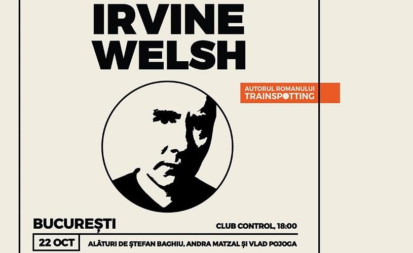 Scriitorul Irvine Welsh vine în România, la Z9Culture