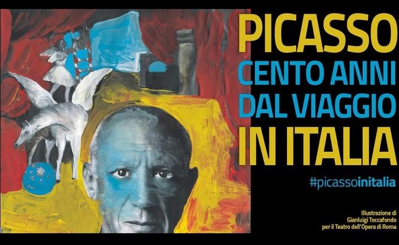 Pablo Picasso, omagiat la Roma