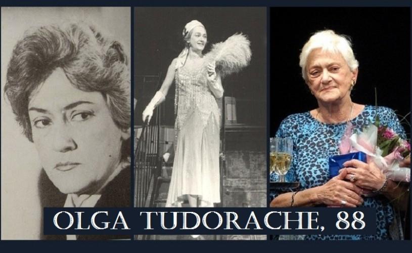 Olga Tudorache la 88 de ani. Ne auzim la… Metropolis!