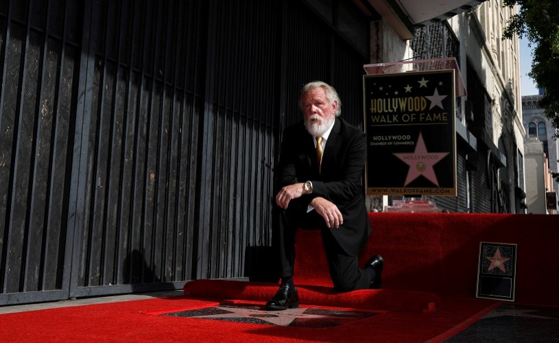 Nick Nolte a primit o stea pe celebrul Walk of Fame din Hollywood
