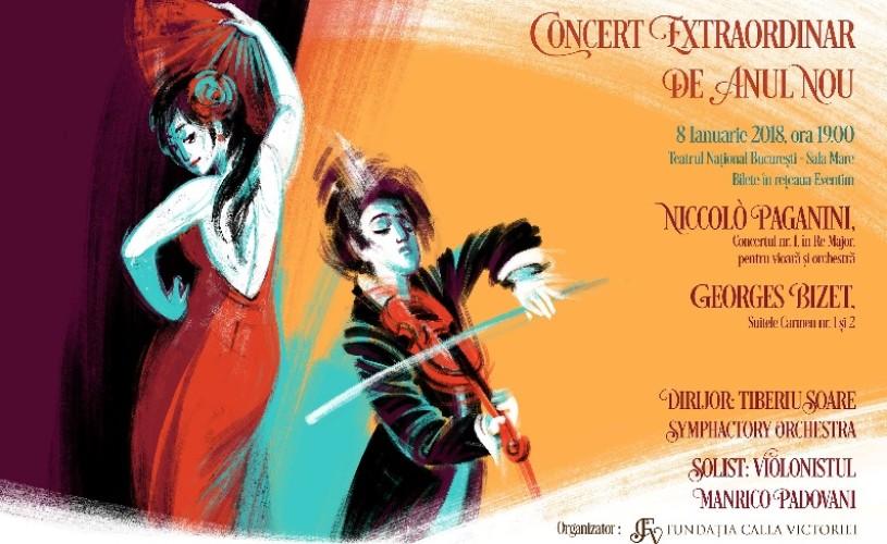 Elvețianul Manrico Padovani va concerta la București