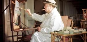 Tablou de Winston Churchill, vândut cu 400.000 de euro