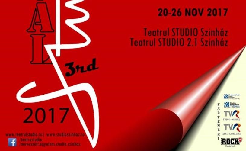 Universități de teatru din Europa și SUA își dau întâlnire la Festivalul Studio Târgu-Mureș