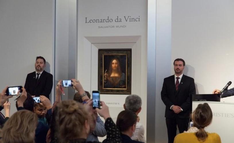 """""""Salvator Mundi"""" a devenit cel mai scump tablou din istoria vânzărilor de artă"""