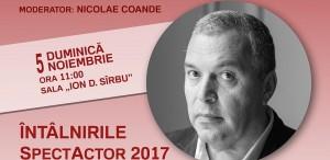 Constantin Chiriac la Craiova: conferințăla Întâlnirile SpectActor și recitaluri