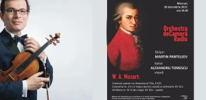 Alexandru Tomescu cântă Mozart la Sala Radio