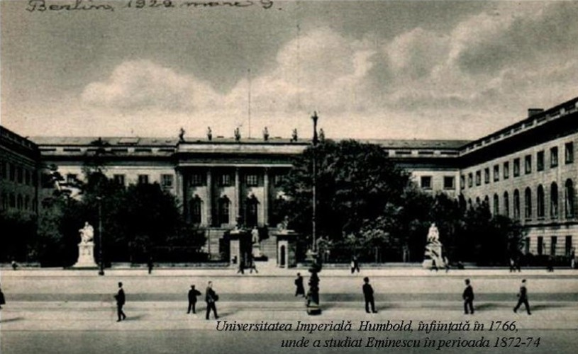 Centenarul Marii Uniri: Pe urmele lui Eminescu – reuniune culturală la Berlin