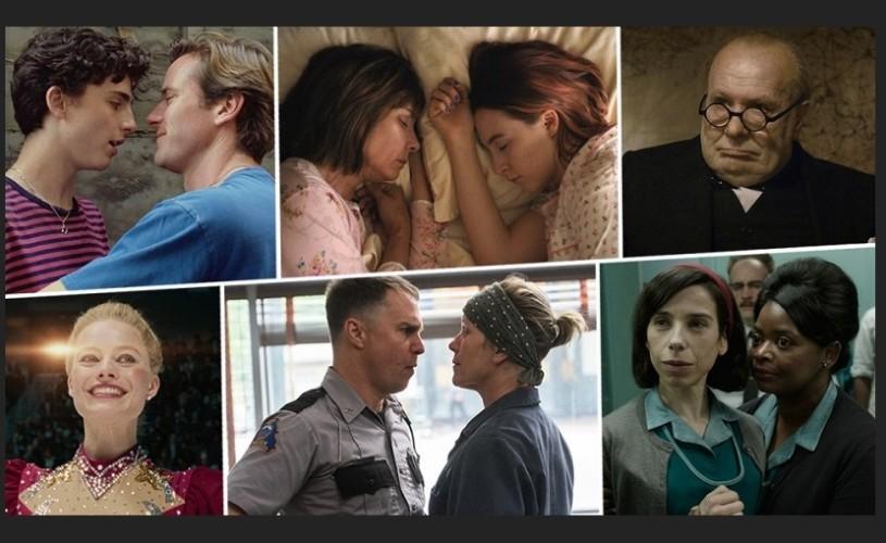 9 producții se bat pentru cel mai bun film al anului. Oscar 2018