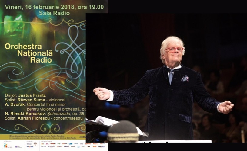 Șeherazada de Rimski – Korsakov, la Sala Radio