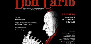 """""""Don Carlo"""",  de Giuseppe Verdi - O nouă premieră pe scena Operei Naționale București"""