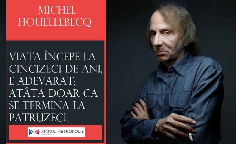 "Michel Houellebecq, în… 10 ""particule"" elementare"