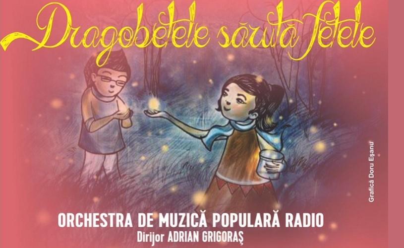 Dragobetele sărută fetele – Orchestra de Muzică Populară Radio și invitații săi, concert la Sala Radio