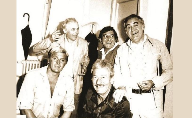 A fost odată… Amza Pellea, invitat în emisiunea lui Florin Piersic, în anul 1979